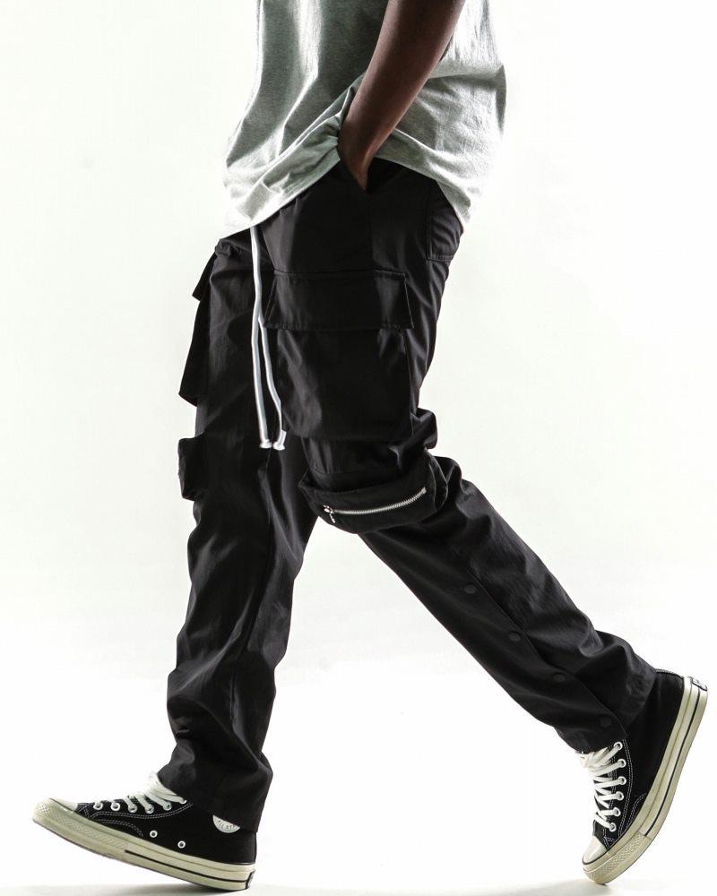 《2色》ビッグポケットサイドスナップカーゴジョガーパンツの画像11